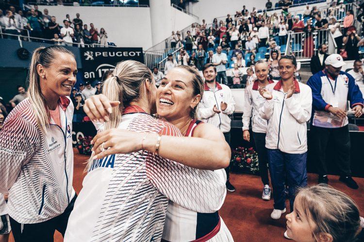 FED CUP 2019 Dominika Cibulková rozlúčka