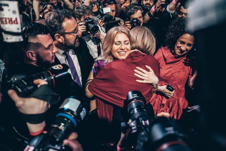 Zuzana Čaputová prezidenské volby 2019